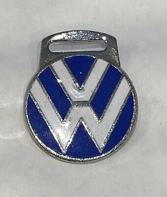 Enamelled Metal Volkswagen Motor Cycle Fob • 4.99£