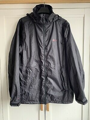 Peter Storm Mens Waterproof Jacket Black, Jack In A Pack Size S • 4£