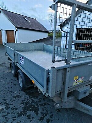 Ifor Williams 12 Foot Tipping Trailer With Ramps, • 4,500£