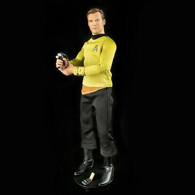 $ CDN507.48 • Buy QMx Star Trek The Original Series TOS Kirk 1/6 Figure NEW In Box With Shipper