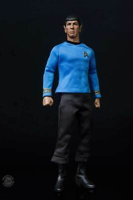 $ CDN507.48 • Buy QMx Star Trek The Original Series TOS Spock 1/6 Figure NEW In Box With Shipper