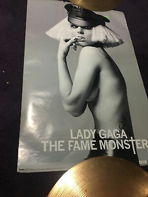 Lady Gaga The Fame Monster Promo Poster 22x34 • 7.15£