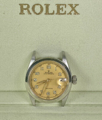 $ CDN2418.39 • Buy Vintage Rolex OysterDate Precision 31mm Stainless Steel Watch Head Ref 6466