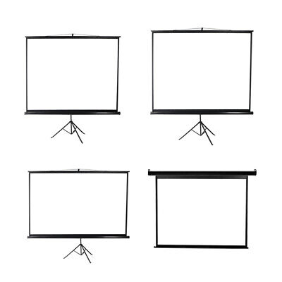AU119.99 • Buy 100/120 Inch Projector Screen Motorised Tripod Stand Retractable 3D Cinema Home