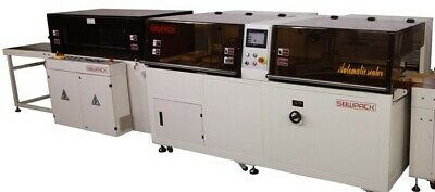 NEW AUTO Vertical L Sealer Shrink Wrapping Machine With Tunnel, £25400+VAT • 30,480£