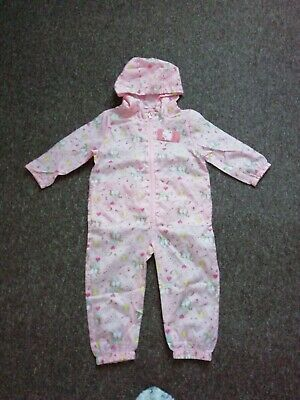 Girls Splash Suit Puddle Showerproof All In One New With Tags 2-3 • 7.50£