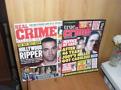 £5.99 • Buy True CRIME  DETECTIVE MONTHLY MARCH 2021REAL CRIME  HOLLYWOOD  RIPPER