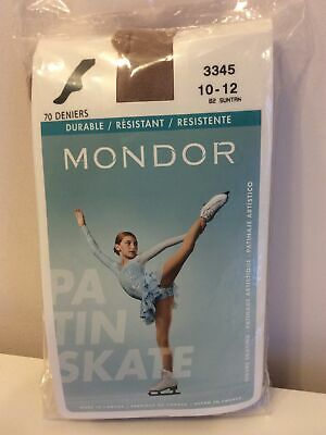 Mondor Footed Skate Tights Suntan Age 10 - 12 Years 70 Deniers New In Packet  • 9£
