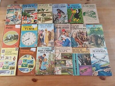 Lot Of Vintage Ladybird Books 18 Various Ages And Conditions  • 9£