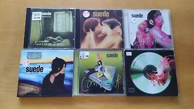 CD Album Bundle X6 Suede Coming Up Head Music Best Of A New Morning Nude Dog Man • 11.99£