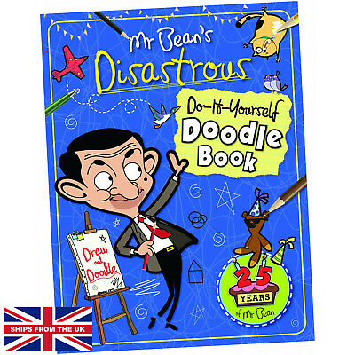 £7.99 • Buy Mr Bean's Disastrous Do-it-Yourself Doodle Book - Anna Brett (2015, Paperback)