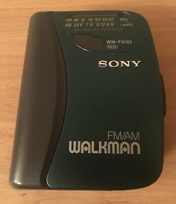 Sony Walkman WM-FX 151 AM/FM Radio Cassette Player • 10.60£