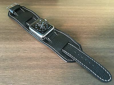 $ CDN163.82 • Buy Apple Watch 42mm Apple Watch Band Black Bund Strap 38mm Series 3
