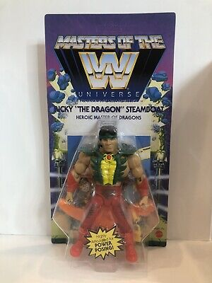 $39.99 • Buy WWE MASTERS OF THE UNIVERSE Action Figure Wave 5 Series Ricky Dragon Steamboat