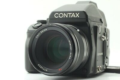 $ CDN5633.69 • Buy  NEAR MINT+++  CONTAX 645 Medium Format Camera T* 80mm F/2 Lens AE Finder JAPAN