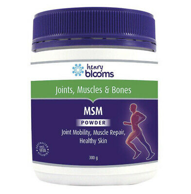 AU19.95 • Buy Henry Blooms MSM Powder 300g