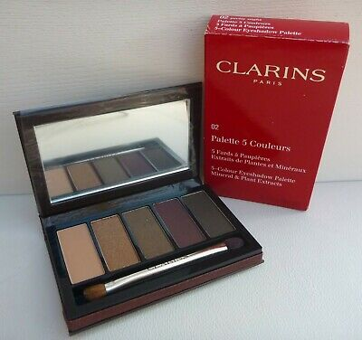 AU26.99 • Buy CLARINS 5-Colour Eyeshadow Palette, #02 Pretty Night, Brand New In Box!