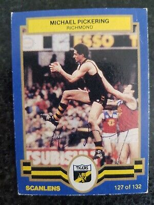 AU11 • Buy Richmond Tigers Afl Signed Cards X 2, Michael Pickering