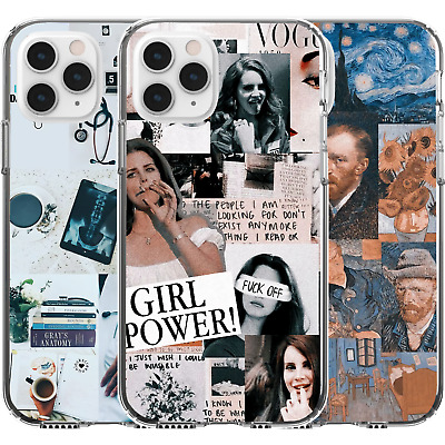 AU16.95 • Buy Silicone Cover Case Collage Mashup Doctor Starter Pack Van Gogh Girl Power F Off