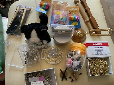 Lace Making Pins And Accessories Job Lot • 4.98£