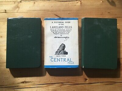 Pictorial Guides To The Lakeland Fells Books 1, 3 And 5 • 6.80£