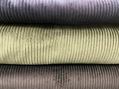 £5.25 • Buy Cotton Jumbo Cord/Corduroy Fabric By 1/2 Metre Various Colours