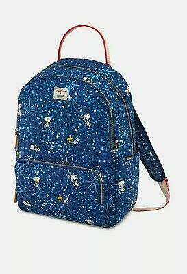 BNWT Cath Kidston X Snoopy Love Paper Ditsy Red Pocket Backpack RRP £85  • 55.99£