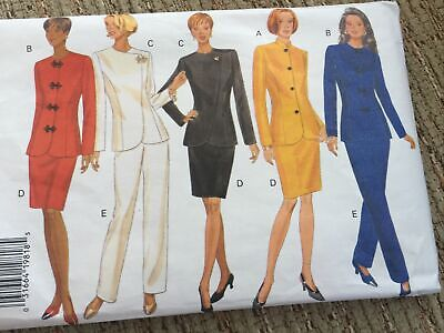 Ladies Butterick 2piece Suit Dress-making Pattern. No. 3563. Sizes12/14/16. • 8.50£