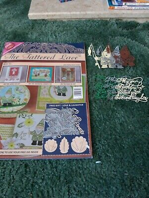 Tattered Lace Magazine With Die • 2£