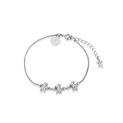 £35 • Buy Disney Couture Kingdom Winnie The Pooh White Gold-Plated Charm Bracelet
