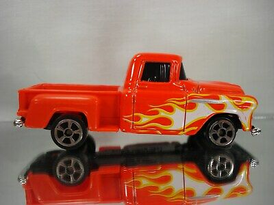 $ CDN5.05 • Buy Maisto 1957 Chevrolet Pickup New Red & Flamed Paint Loose From Multi-Pack VHTF
