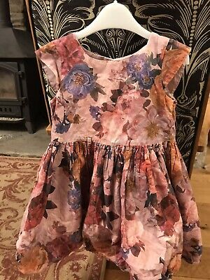 4 Girls Dresses Aged 3 - 4 Incl Next & Bluezoo • 0.99£