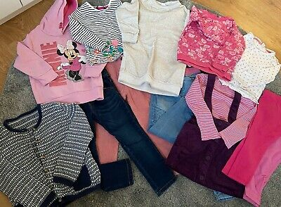 Girls Casual Clothes Bundle 3-4 Years (13 Items Inc Mothercare, Boots, George) • 0.01£
