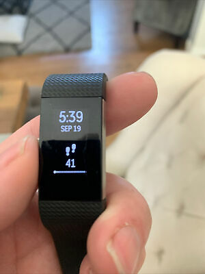 $ CDN6.33 • Buy Fitbit Charge 2 Wristband Activity Tracker, Small - Black