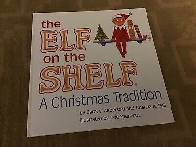 AU15.65 • Buy Elf On The Shelf Hard Cover BOOK ONLY Boy Version 2005 A Christmas Tradition