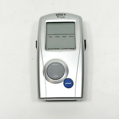 $ CDN24.29 • Buy Weber Style BBQ Thermometer IR Display Remote M/N:44025 Great Condition Tested