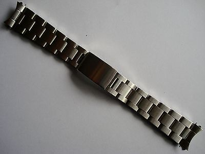 $ CDN30.28 • Buy 19mm Brushed Stainless Steel Oyster Band Bracelet For Rolex Old Explorer Watch N