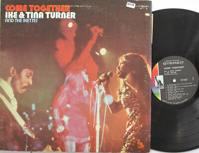 IKE AND TINA TURNER AND THE IKETTES LP, Come Together (LIBERTY US Issue) • 20.40£