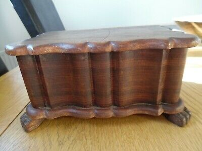 Lovely Small Vintage Wooden Box • 6£