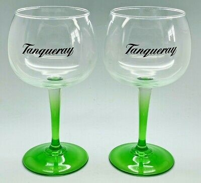 2 X Brand New & Boxed Tanqueray Gin Copa Balloon Glasses - Pub Bar Pair Two • 14.99£