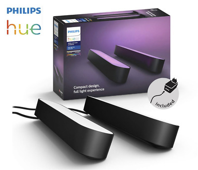 AU1.25 • Buy Philips Hue Play - White & Colour Ambiance Smart LED Bar Light Full Double Pack