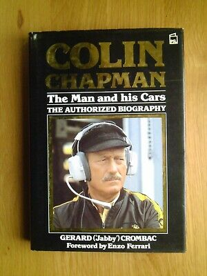 £23.50 • Buy Colin Chapman The Man And His Cars-Gerard Crombac Book