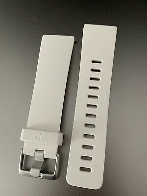 $ CDN8.83 • Buy Genuine Original Fitbit Versa Classic Band White Size S / Small Used Exc