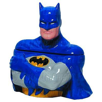 New BATMAN Classic Blue Suit Entertainment Earth EE Exclusive Ceramic Cookie Jar • 61.51£