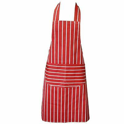 Chefs Apron With Pockets, BBQ, Baking & Catering Apron For Men Women Ladies • 4.99£