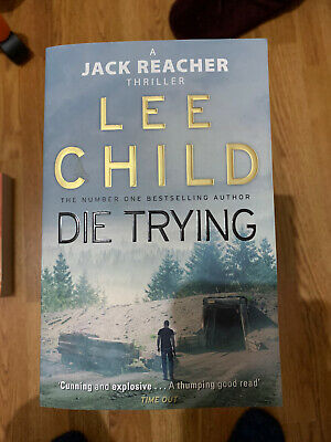 Die Trying : (Jack Reacher) By Lee Child (paperback) Very Good Condition • 2£