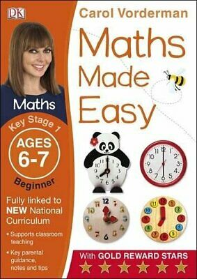 £5.32 • Buy Maths Made Easy Ages 6-7 Key Stage 1 Beginner (Made  By Carol Vorderman New Book