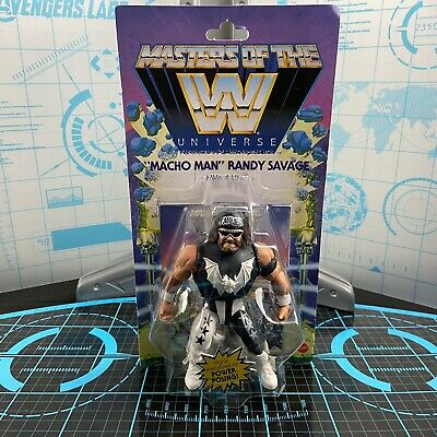 $31.99 • Buy Masters Of The WWE Universe MACHO MAN RANDY SAVAGE HWo 4 Life Wave 5 MOTU Figure