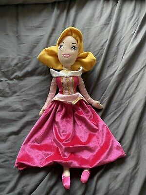 Disney Store Princess Plush Doll Aurora Sleeping Beauty Soft Toy Teddy  • 1.49£