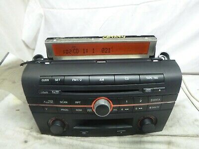 $54 • Buy 2004 2005 04 05 Mazda 3 6 Disc Radio Cd Cassette Player BN8S669RXA PAP85